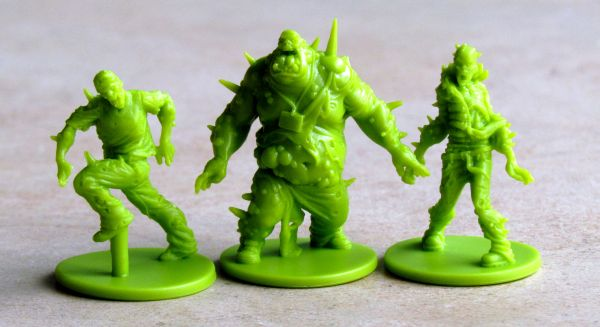 Zombicide: Toxic City Mall - figurky
