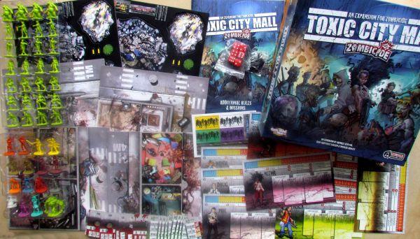 Zombicide: Toxic City Mall - balení