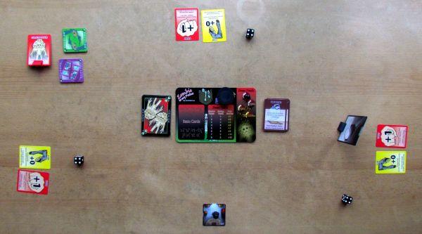 Zombie in my Pocket - připravená hra