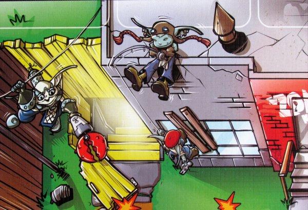 Zombies: Keep Out - detail herního plánu