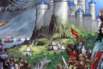 Review: Shadows over Camelot - serve with the knights of Round Table