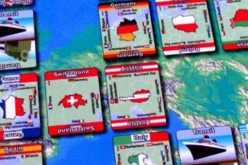 Recenze: Mapominoes Europe - domino na mapě