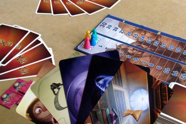 Dixit Journey - připravená hra