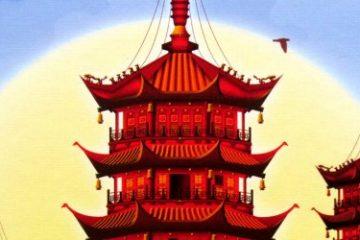 Recenze: Pagoda - sloupy a střechy