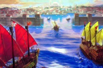 Recenze: Golden Horn Z Benátek do Konstantinopole – plavou lodě z kartonu?