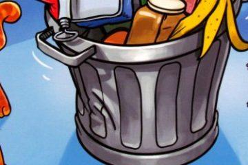 Recenze: Ab in die Tonne - uvnitř popelnice