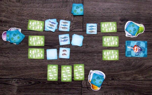 Fish n Stones - rozehraná hra