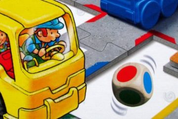 Recenze: Wir Spielen Baustelle - autíčka a zastávky