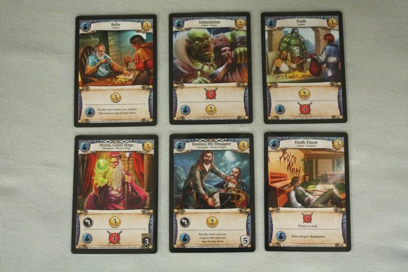Hero Realms - blue cards