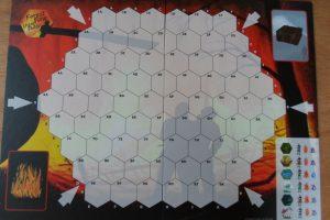 Lesní požár - herní plán