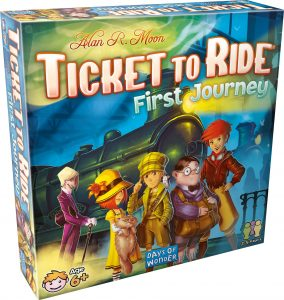 Ticket to ride - first journeu