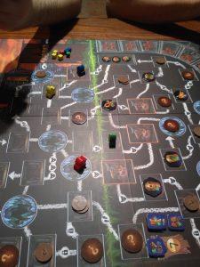 Clank - herní plán