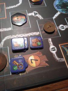 Clank - detail herního plánu