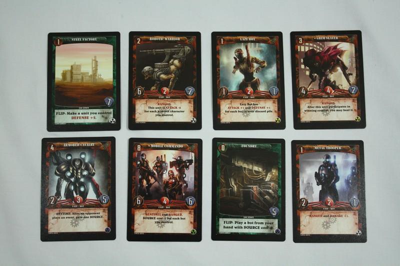 Karty botů