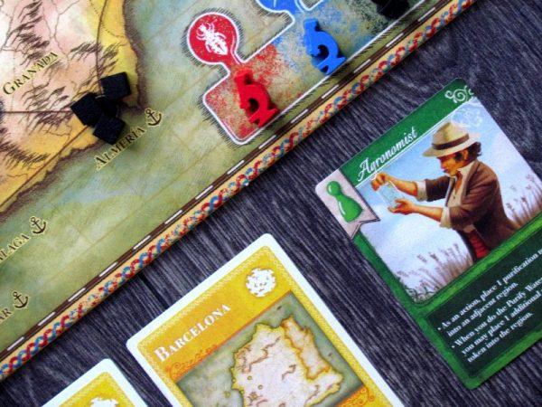 how to play pandemic iberia