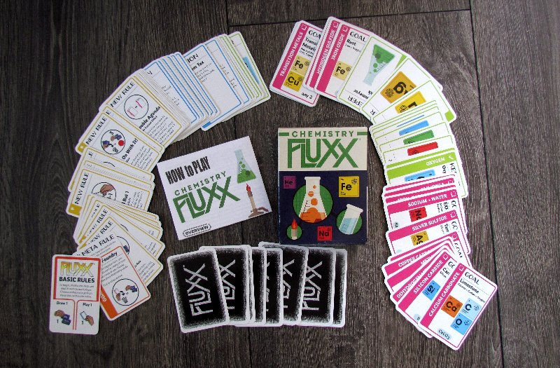 Review: Chemistry Fluxx - the right card composition