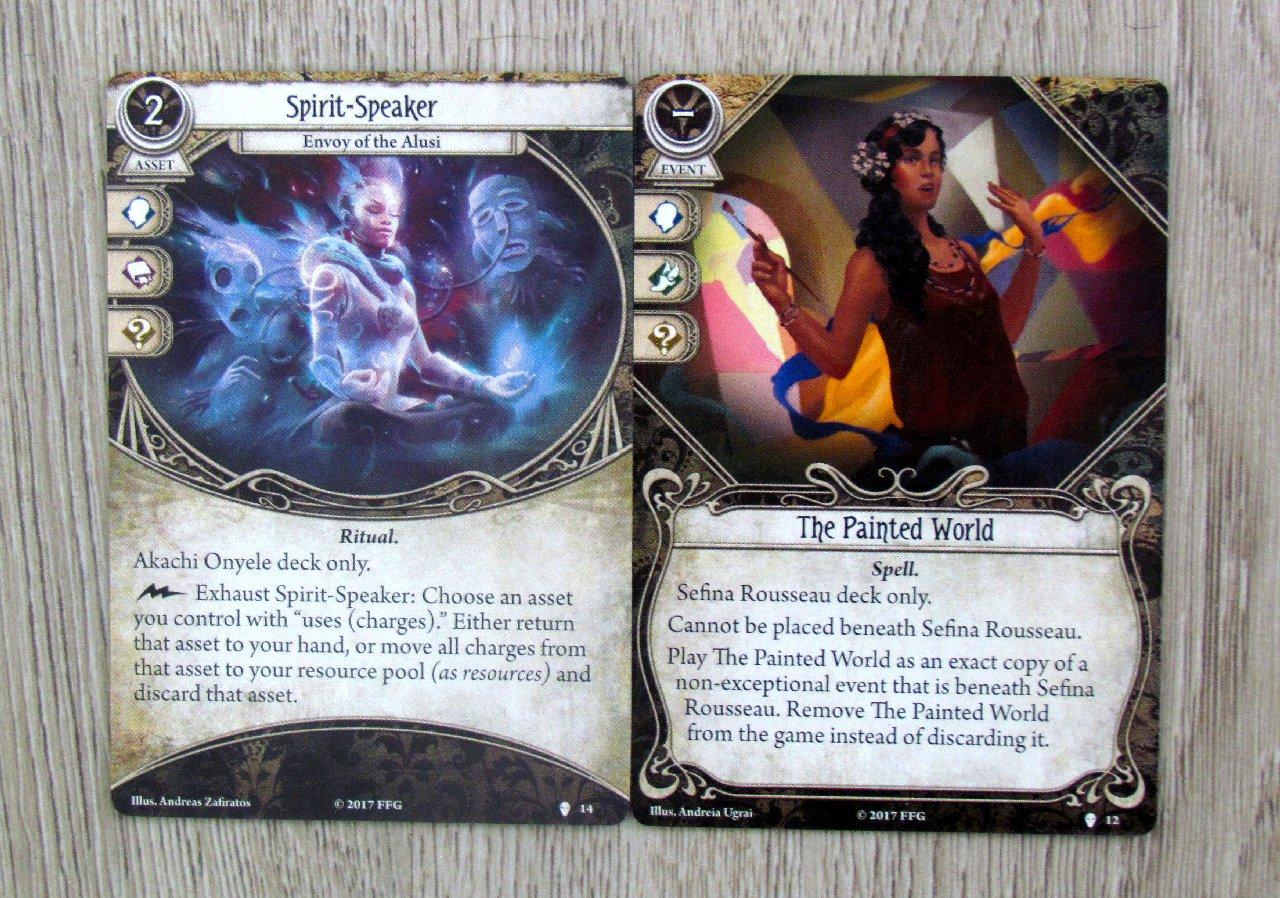 arkham horror card game decks