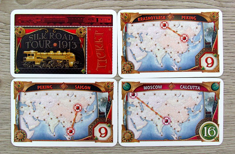 Ticket To Ride Asia Map.Review Ticket To Ride Asia Building Is A Team Sport Deskovehry