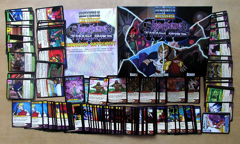 Review  Sentinels of the Multiverse Shattered Timelines  554cfee02d8