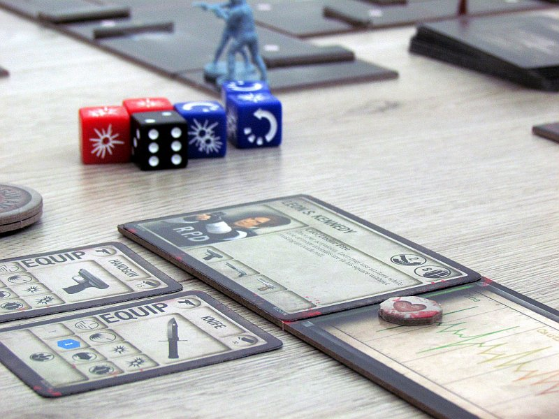 Review: Resident Evil 2 The Board Game - escape from Raccoon City