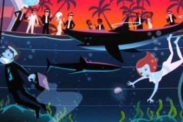 Recenze: Dr. Shark – agenti musí občas pracovat poslepu