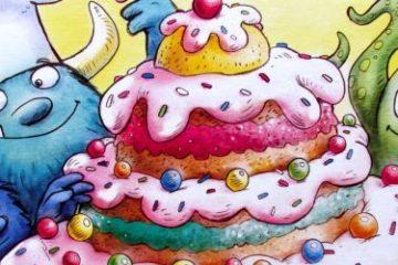 Recenze: MonsterTorte - když pečou příšerky dort
