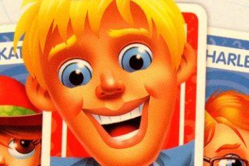 Recenze: Hádej kdo? Shuffle Card Game – karty a obrazovky